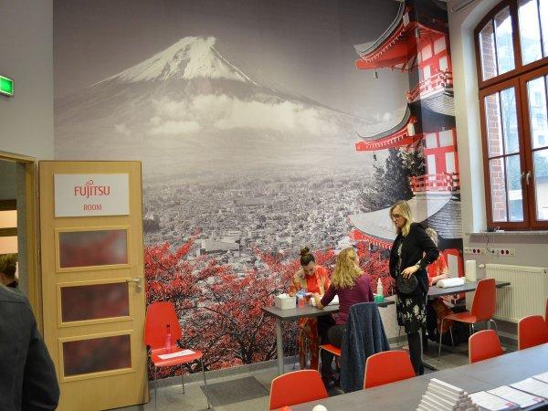 Sala w IFE na PŁ inspirowana kulturą japońską. fot. Anna Gryszkiewicz