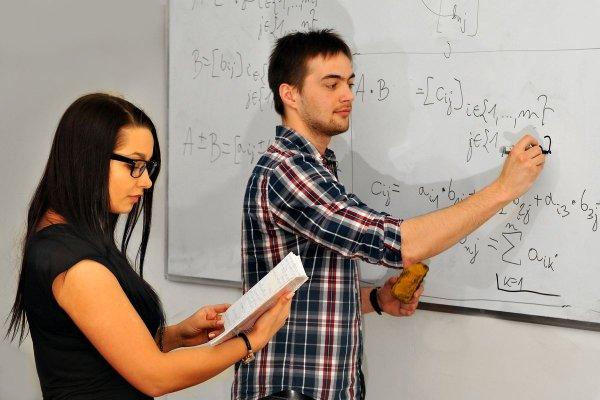 Studenci matematyki na PŁ