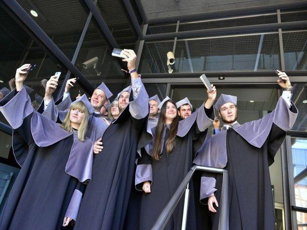 Studenci Politechniki Łódzkiej. Foto: Archiwum PŁ