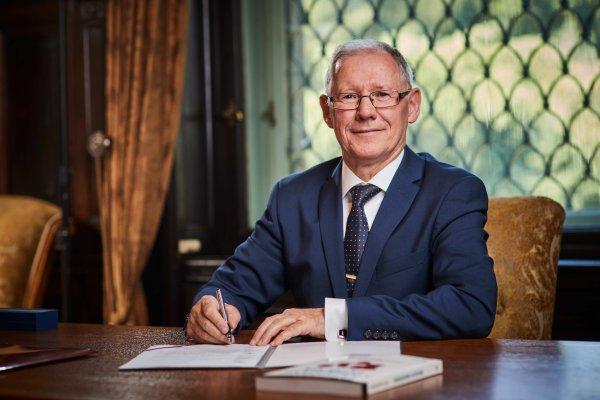prof. Sławomir Wiak, rektor PŁ, , fot.archiwum PŁ