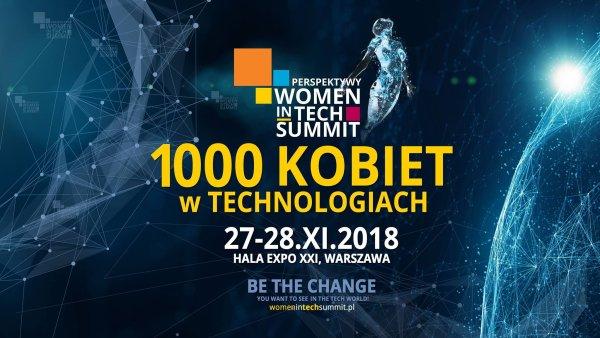 Zaproszenie na konferencję Perspektywy Women in Tech Summit