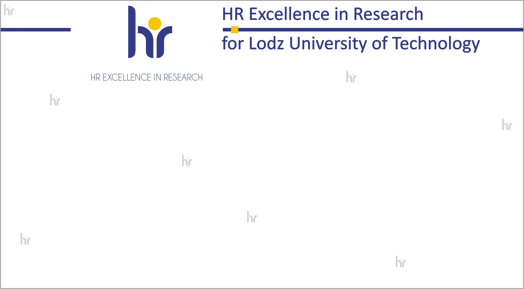 HR Excellence in Research - baner