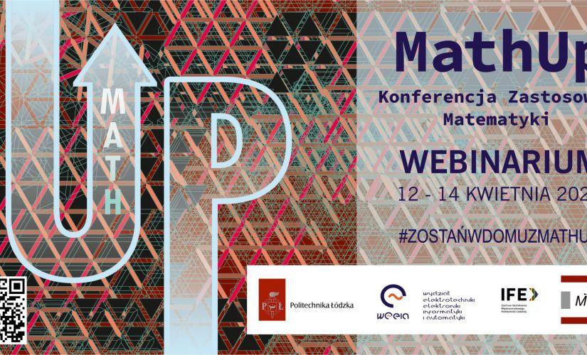 Zaproszenie na Konferencję Zastosowań Matematyki MathUp