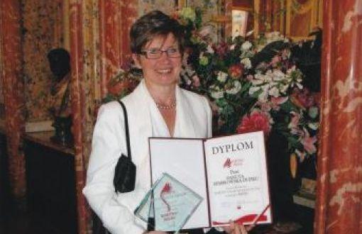 Danuta Kembłowska-Dupieu, absolwentka PŁ