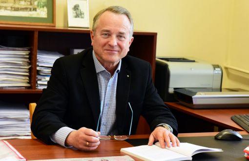 Prof. Jerzy Zgraja z PŁ, fot. Jacek Szabela