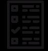 checklist ikon