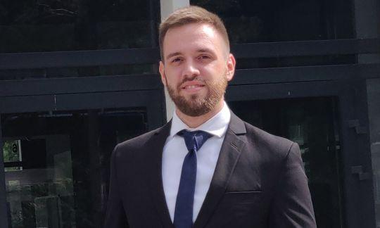 Damian Kozanecki, Student of TUL
